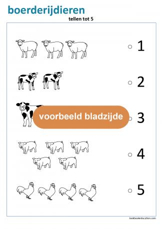10_werkblad_boerderijdieren_tellen5