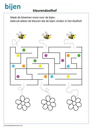 Uitgelezene Werkbladen voor Groep 3 & 4 - LookbookEducation.com/nl MD-42