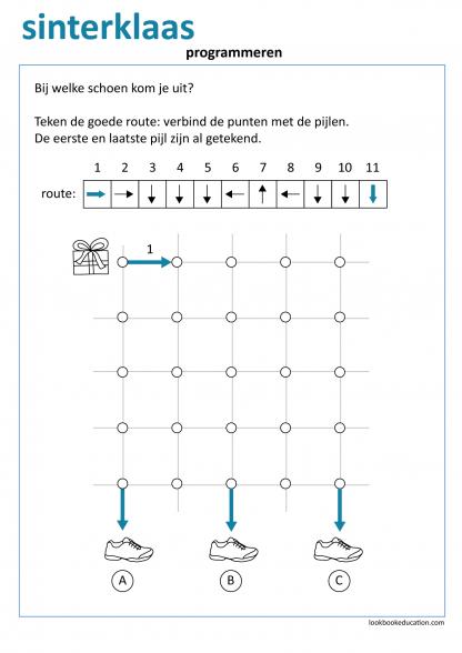 Werkblad_sint_schoen_code3