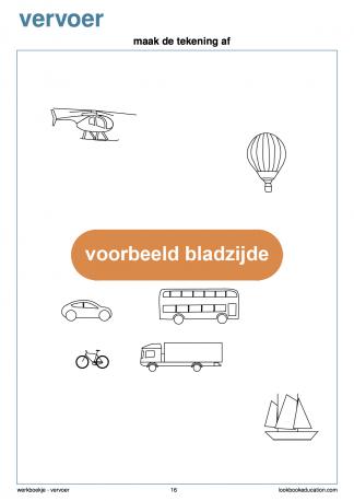 Werkblad-vervoer-kleurplaat-xo