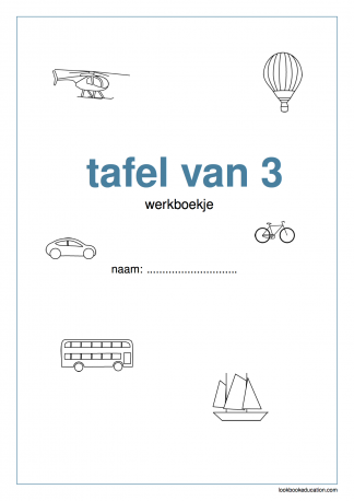 Werkboekje_tafel_3_voorkant