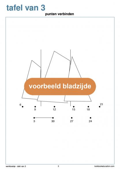 Werkblad-tafel-3-punten-verbinden