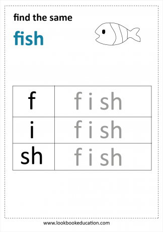 Worksheet Reading Fish