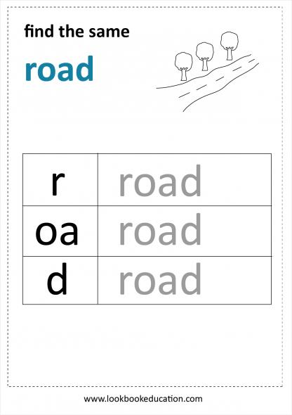 Worksheet Reading Road