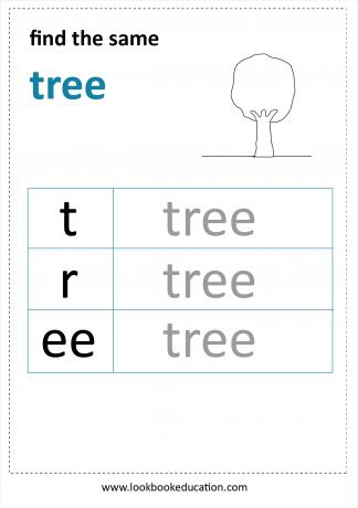 Worksheet Reading Tree