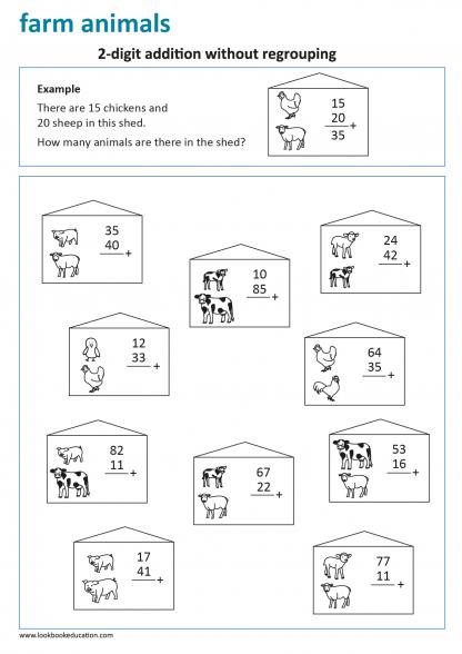 Worksheet Addition
