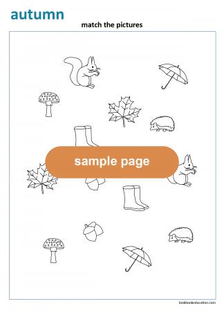 Worksheet_matching3_autumn_en