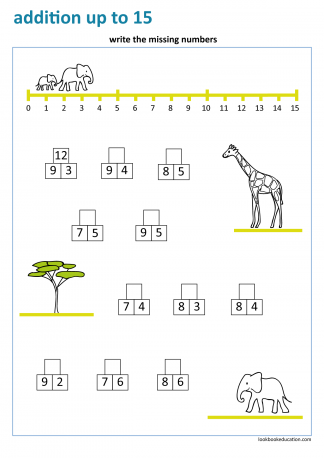 Worksheet_addition_up_to_15