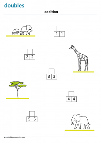 Worksheet_doubles_elephant