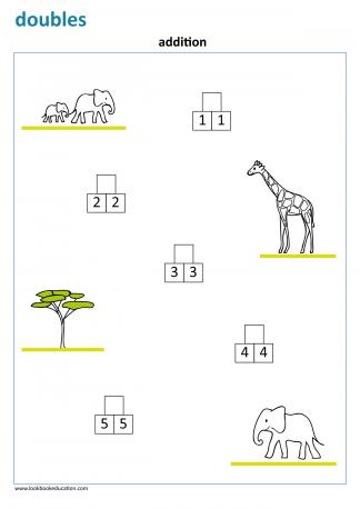 Worksheet_doubles_elephant