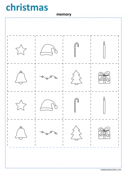 Worksheet_christmas_memory