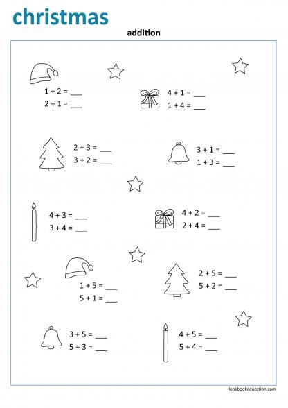 Worksheet_christmas_addition