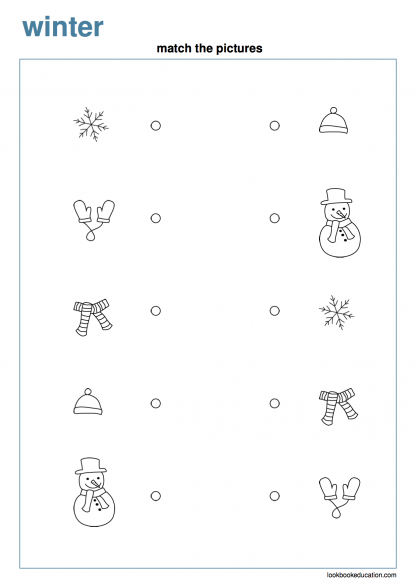 Worksheet_matching_2_winter