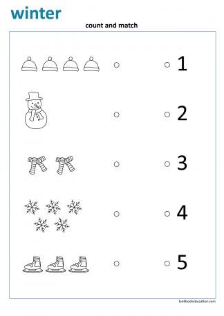 Worksheet_winter_count_match